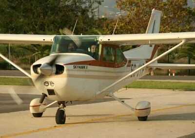 Air batismo, Rotas em Cessna