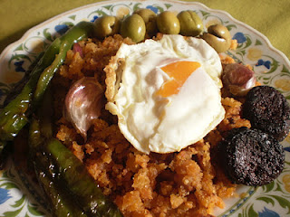 Migas in wintervoedsel in Andalusië