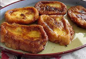 Recette de torrijas pour le petit déjeuner ou une collation - CasaEnChilches.com