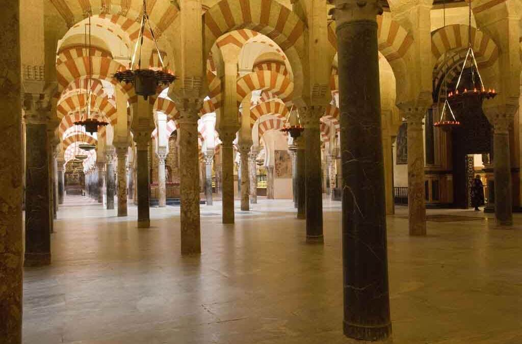 Bezoek 's nachts aan de Mosquée / Cathédrale de Cordoue -Córdoba
