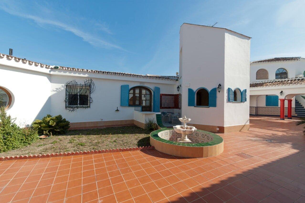 Patio -Apartamento Granada-