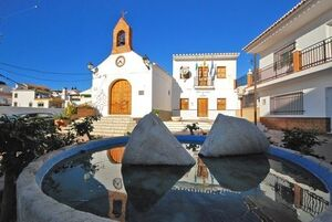 Plaza de la Iglesia de Chilches
