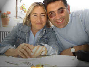Carmen and Jose Luis os seus anfitriões