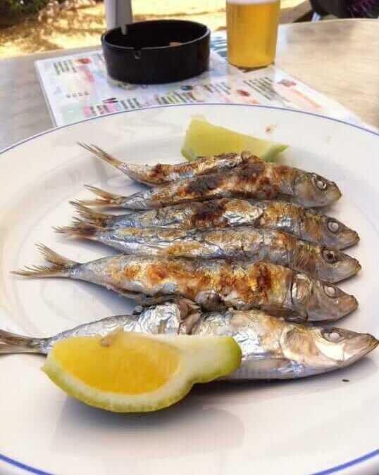 Espetos de Sardinas, no te los puedes perder….