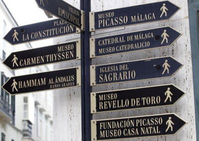 Culturele stad van Malaga