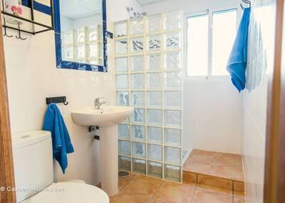Cuarto de baño Casa Andalucia