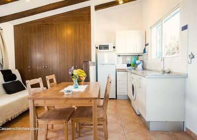 Comedor y cocina Casa Andalucia