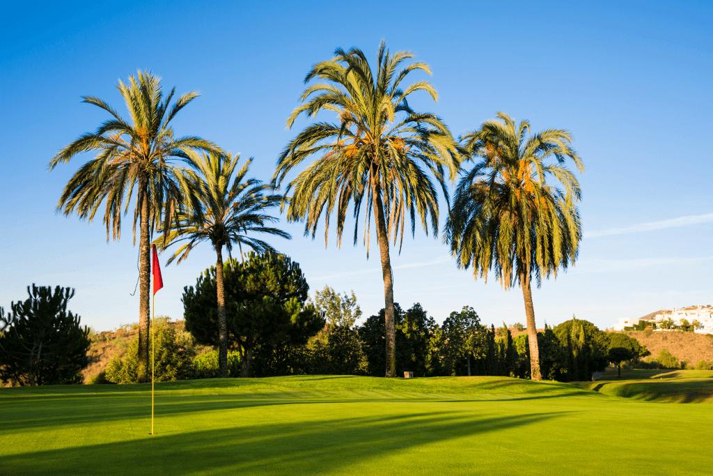 Vistas del Golf, Hoyo 17