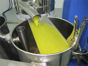 Olive juice or oil