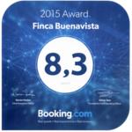 Booking com award pequeño