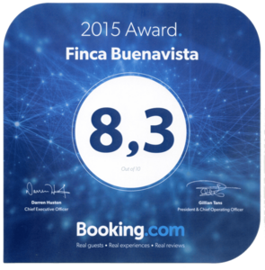 Booking 2015 Finca Buenavista