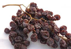Raisins of Málaga in Cluster