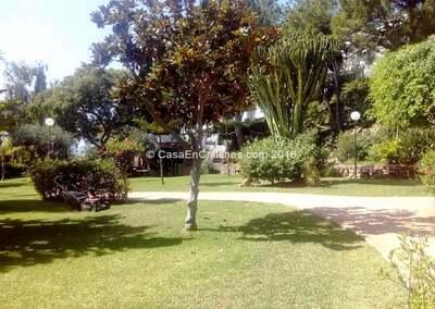 Jardins e áreas da comunidade
