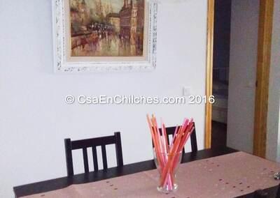 Sala de jantar Rincon del Viajero