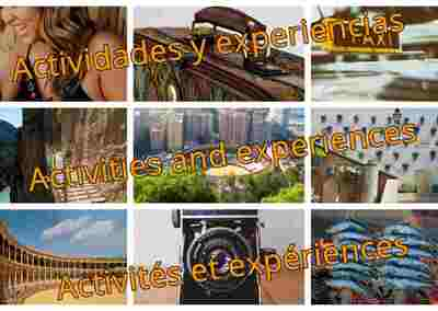 Activities and experiences (1)
