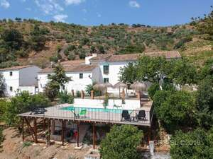 Aerial view of the Cortijo