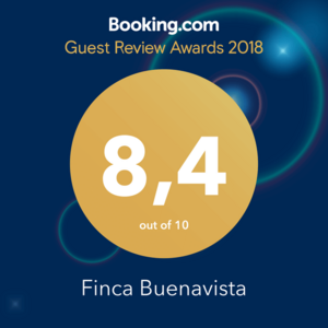 Booking Award 2018 8.4 out of 10