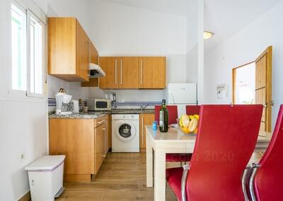 Apartamento Cádiz comedor cocina