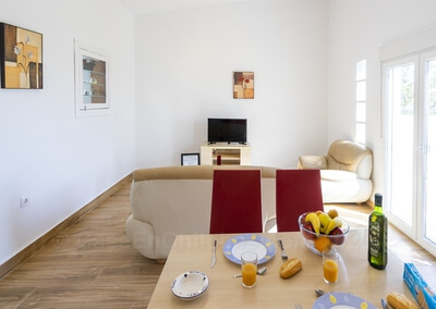 Apartamento Cádiz Salón comedor
