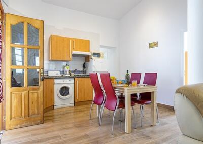 Cocina y comedor del Apartamento Huelva en Finca Buenavista 2020