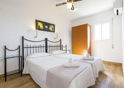 Apartamento Málaga Dormitorio